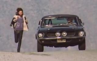 Jim Morrison's Lost 1967 Mustang Shelby GT 500 - The Blue Lady