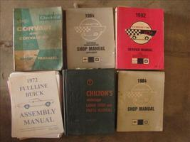 Old Car Shop Manuals